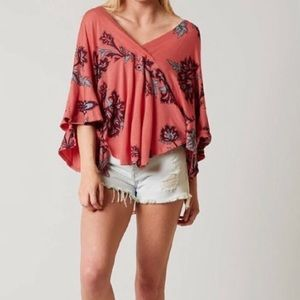 Free People Passion Flower Combo Top